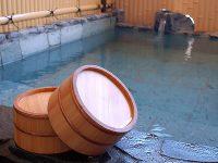 大浴場に併設の露天風呂