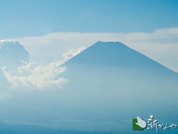 滝知山から望む富士山
