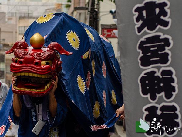 来宮神社例大祭2019 御神幸行列