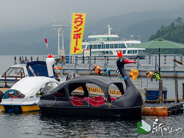 箱根芦ノ湖スワンボート