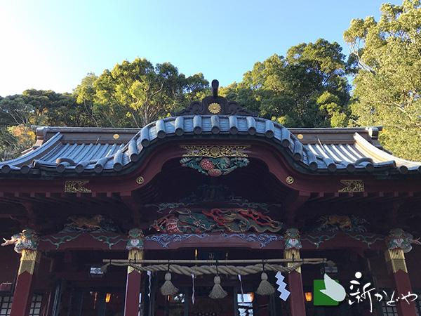 伊豆山神社本殿